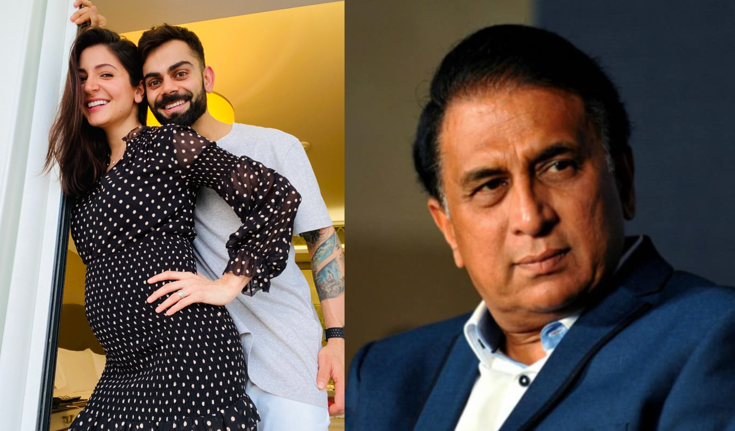 Sunil Gavaskar Attacked On Virat And Anushka's Personal Life While Commentaring