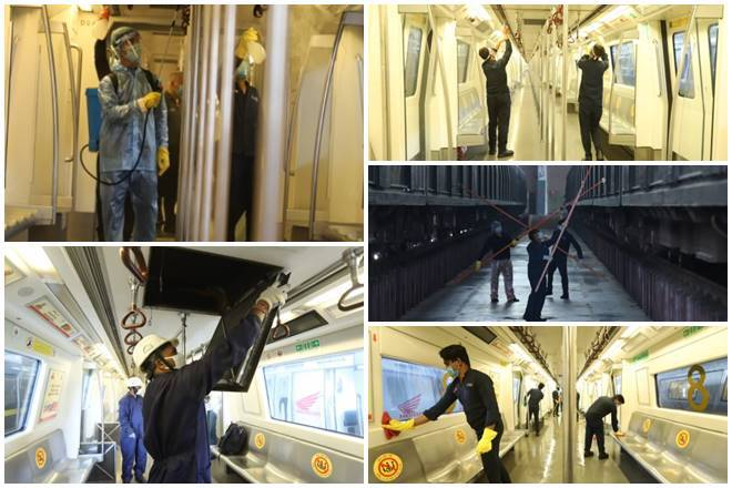 Delhi Metro Resume Services After 169-Days.