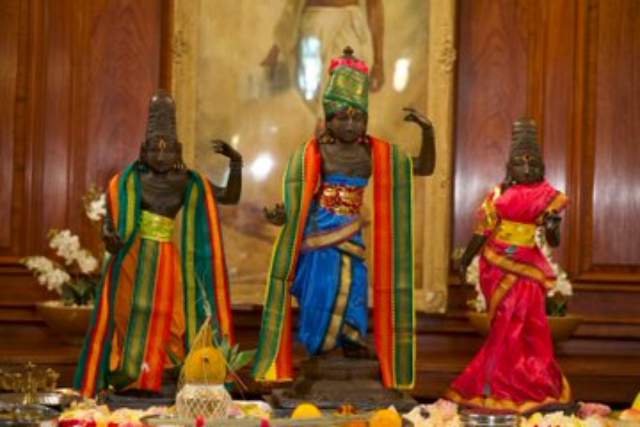 Lord Rama, Sita And Lakshmana Back To India After 40 Years