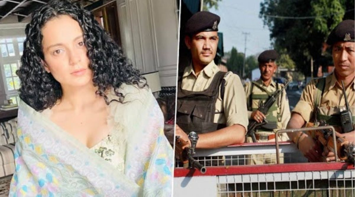 Kangana Ranaut: y+ Security Due To Death Threats.