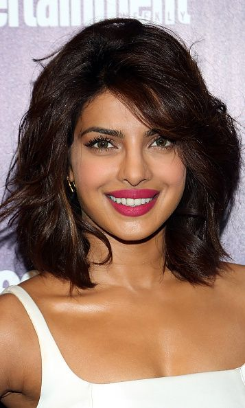 Priyanka Chopra Shows Off Her Bangs In New Hairdo
