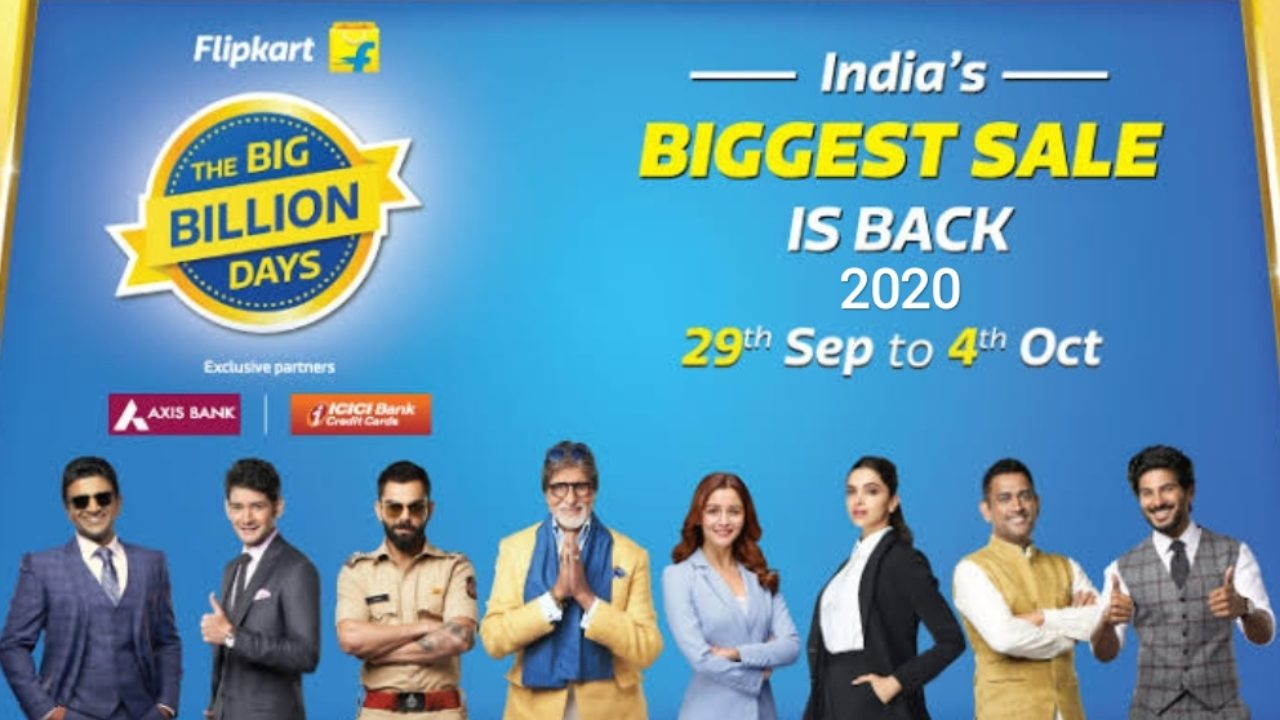 Flipkart Big Billion Day 2020: Date, Offers, Everything Listed In The Article