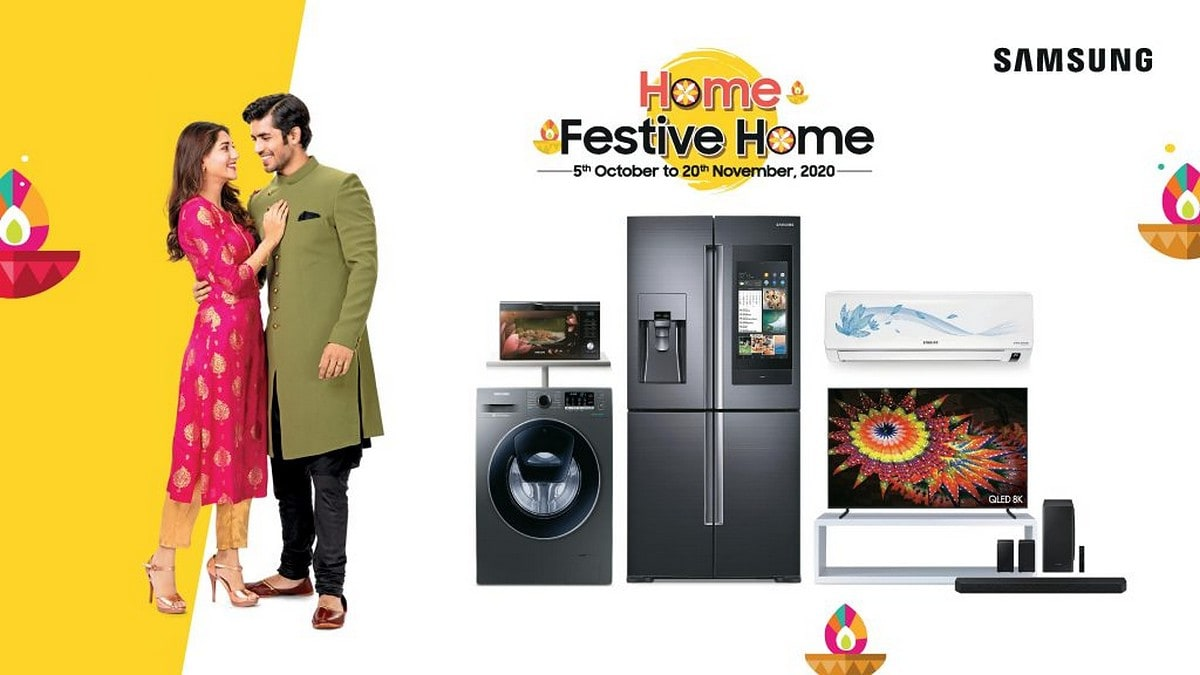 Samsung Festival Sale: Offers Discount On TV, AC And Much More; Read To Know The Details!!