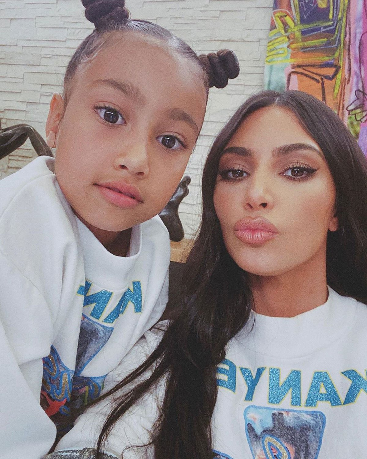 Kim Kardashia Savaged With North, Who Gave A Mind Boggling Editorial On One Of Her Instagram Recordings
