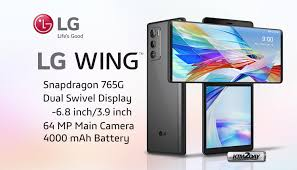 LG Wing Highlighting Swivel Screen Launched in India!!!