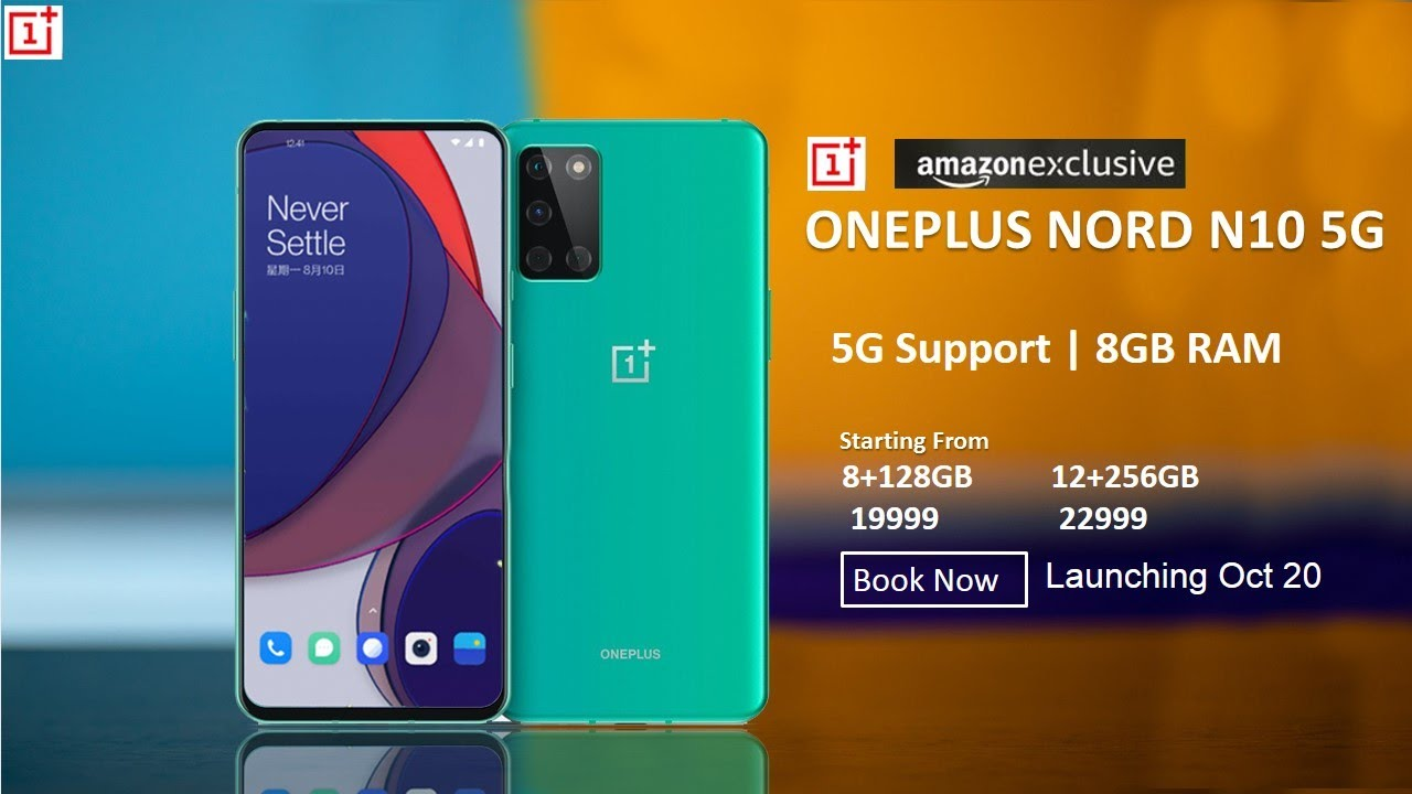 OnePlus Nord N10 5G; Nord N Series's First Lineup Launched; Click To Know More!!!