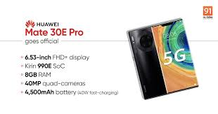 Huawei Mate 30E Pro; Upgraded Version of Mate 30 Pro Launched By Huawei!!!